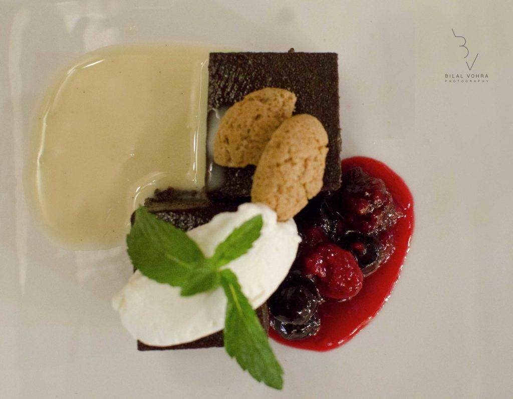Beautiful Looking Italian Dessert at Hyatt